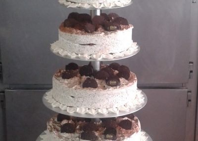 10 TARTA NUPCIAL VAINILLA y GALLETA de CHOCOLATE (2)